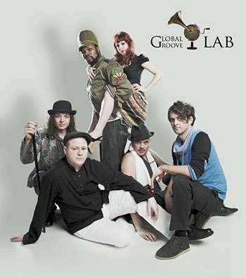 Band Global Groove LAB press photo